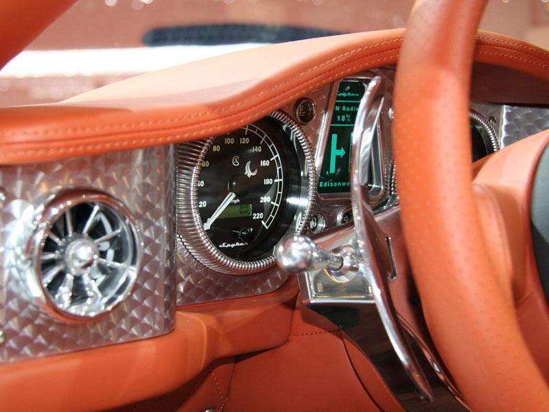 Autosalon Ženeva: Spyker C8 Aileron: - fotka 3
