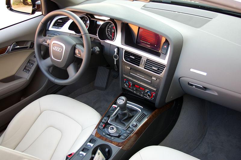 Za volantem: Audi A5 Cabriolet: - fotka 2