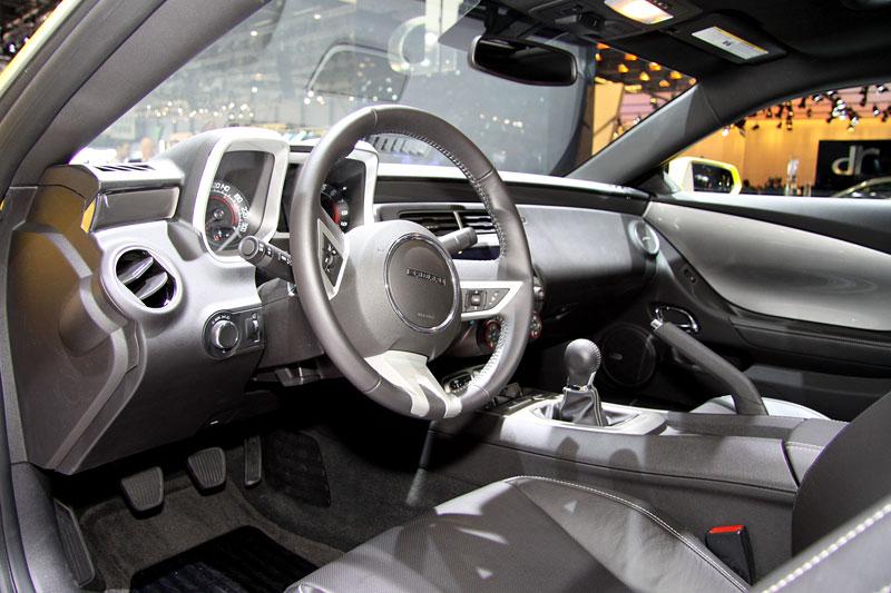 Ženeva 2010 živě: Chevrolet Camaro: - fotka 1