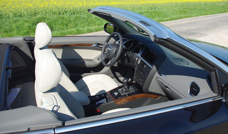 Za volantem: Audi A5 Cabriolet: - fotka 3