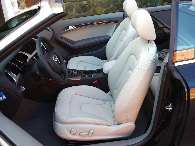 Za volantem: Audi A5 Cabriolet: - fotka 4