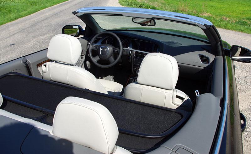 Za volantem: Audi A5 Cabriolet: - fotka 5