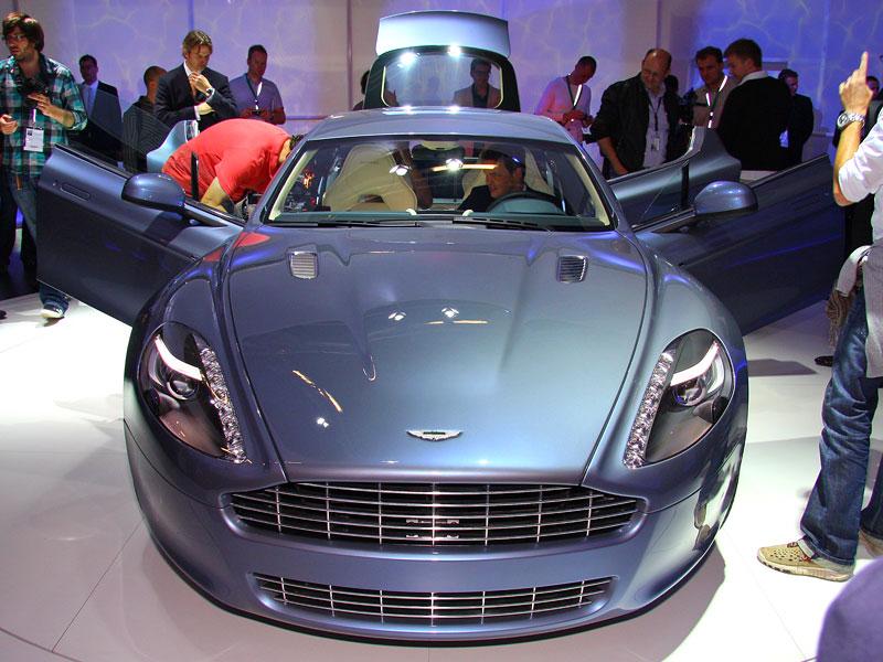 Frankfurt 2009 živě: Aston Martin Rapide - první dojmy: - fotka 7
