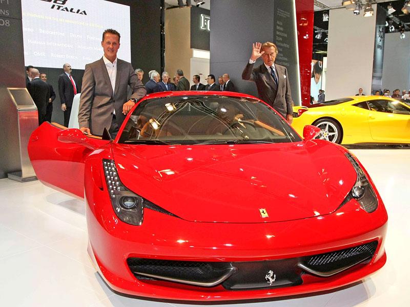 Frankfurt 2009 živě: Ferrari 458 Italia – první dojmy: - fotka 3