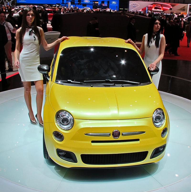Ženeva 2011 živě: Fiat 500 Coupé Zagato: - fotka 1