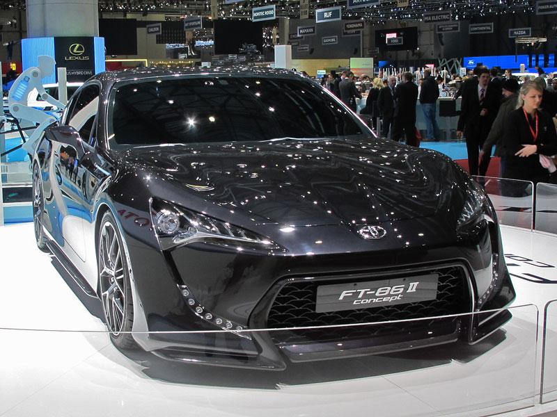 Toyota FT-86: potvrzen motor, převodovky a samosvor: - fotka 1