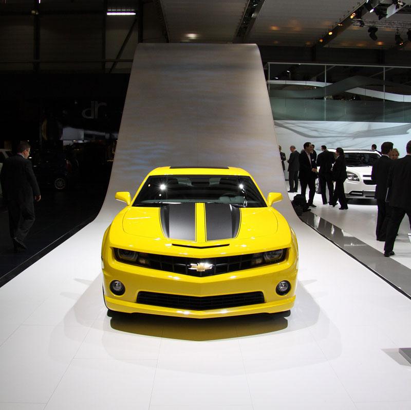 Ženeva 2010 živě: Chevrolet Camaro: - fotka 6