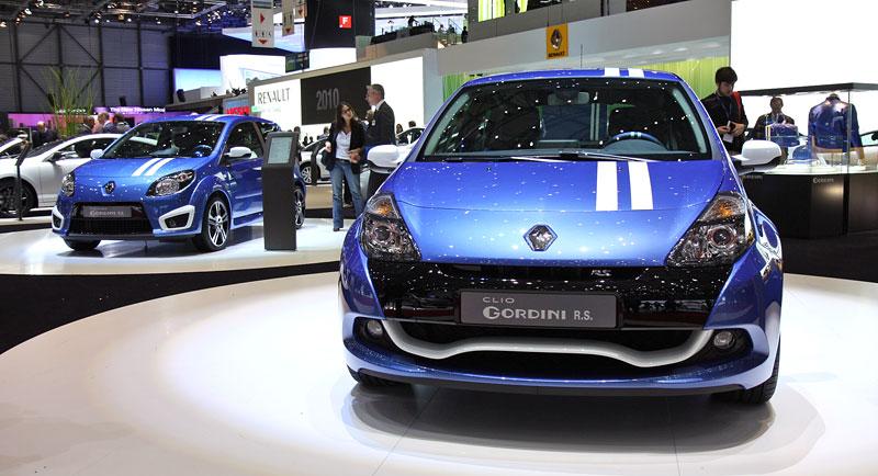 Ženeva 2010: Renault Clio Gordini RS: - fotka 5