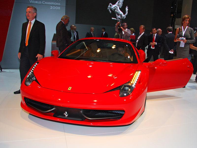 Frankfurt 2009 živě: Ferrari 458 Italia – první dojmy: - fotka 4