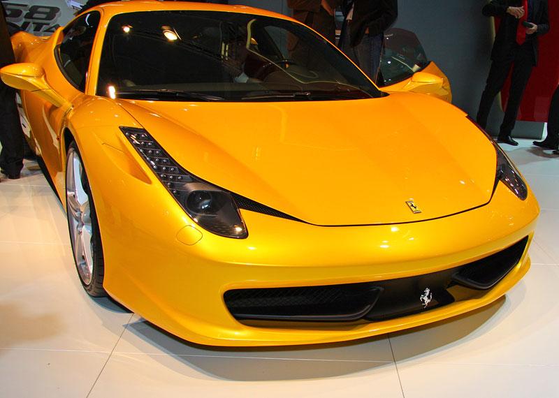 Frankfurt 2009 živě: Ferrari 458 Italia – první dojmy: - fotka 5