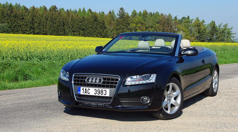 Za volantem: Audi A5 Cabriolet: - fotka 6