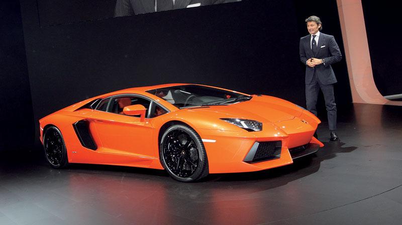 Ženeva 2011 živě: Lamborghini Aventador LP700-4: - fotka 19