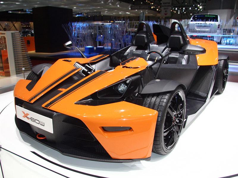 Ženeva živě: KTM X-Bow Dallara: - fotka 5