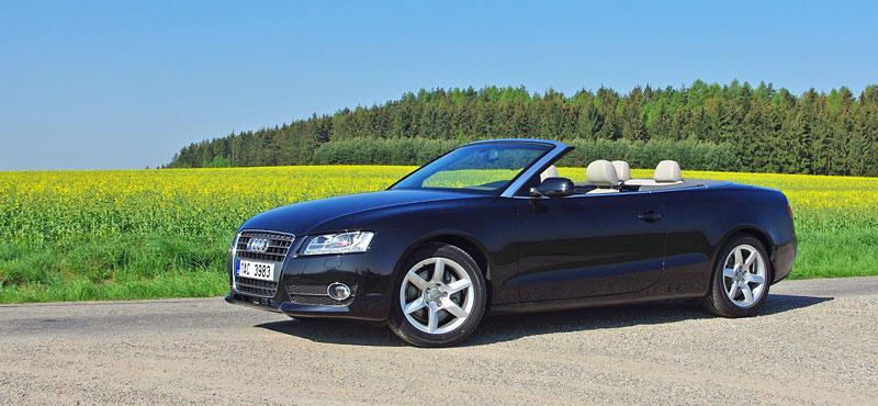 Za volantem: Audi A5 Cabriolet: - fotka 7