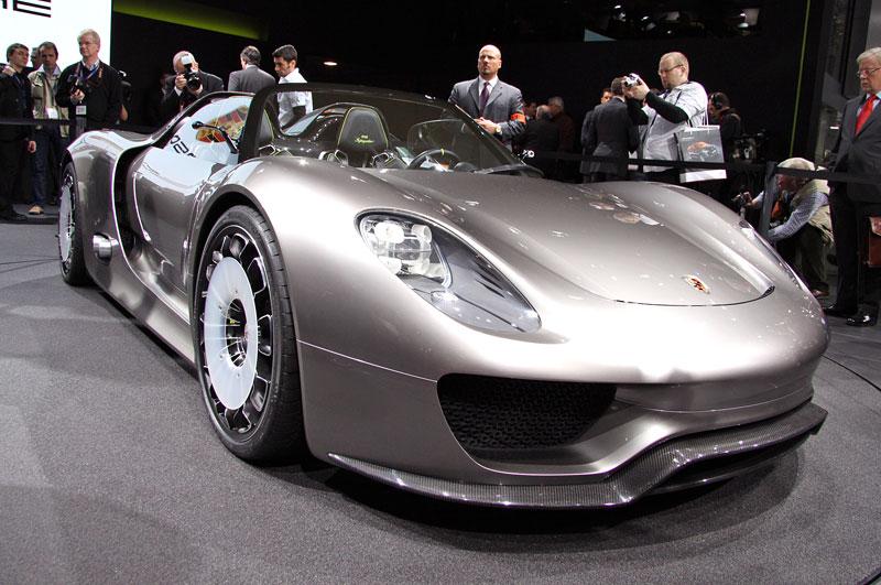 Porsche 918 Spyder: cena stanovena na půl milionu euro: - fotka 6