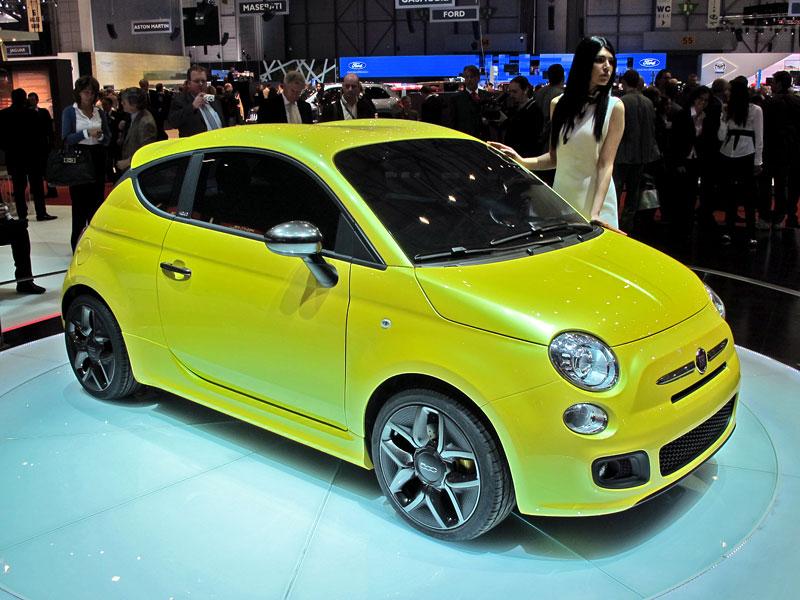 Ženeva 2011 živě: Fiat 500 Coupé Zagato: - fotka 2