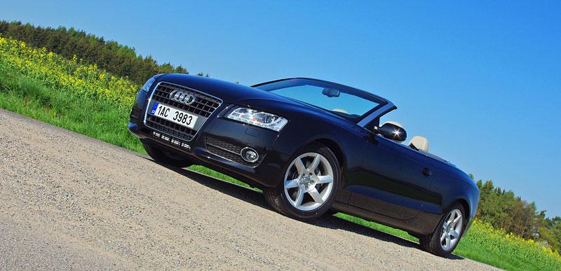 Za volantem: Audi A5 Cabriolet: - fotka 8