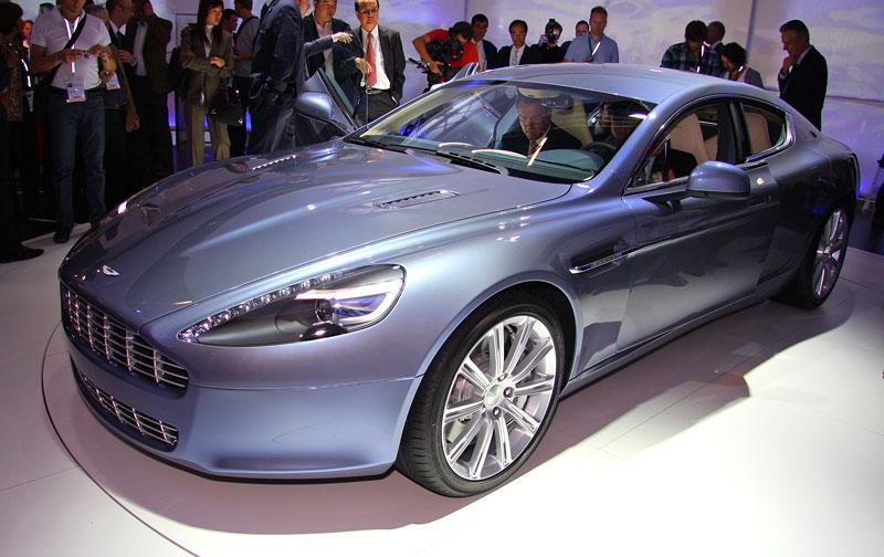 Frankfurt 2009: Aston Martin Rapide: - fotka 9