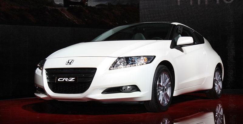 Ženeva 2010 živě: Honda CR-Z: Návrat legendy: - fotka 7