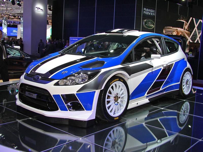 Paříž 2010: Ford Fiesta RS WRC – je pomalu čas udělat focusu pápá: - fotka 1