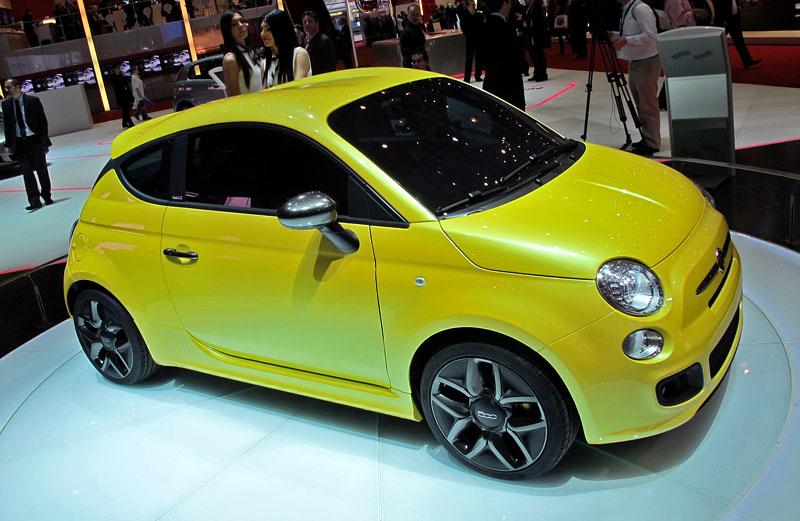 Ženeva 2011 živě: Fiat 500 Coupé Zagato: - fotka 3