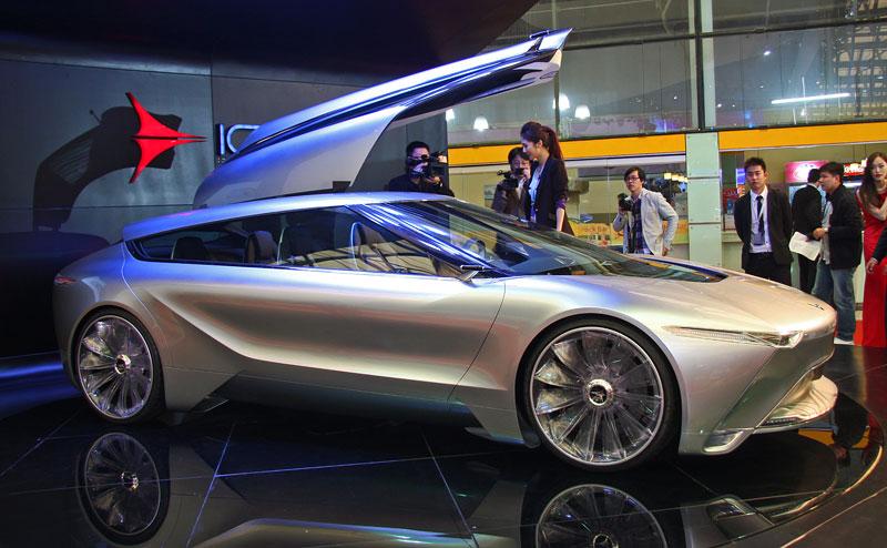 Icona Design Fuselage: atraktivní granturismo... z Číny!: - fotka 7
