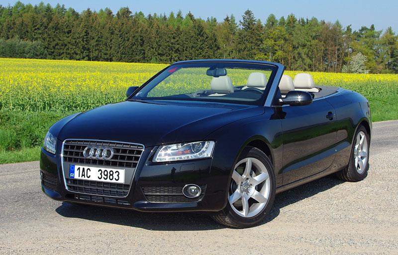 Za volantem: Audi A5 Cabriolet: - fotka 9
