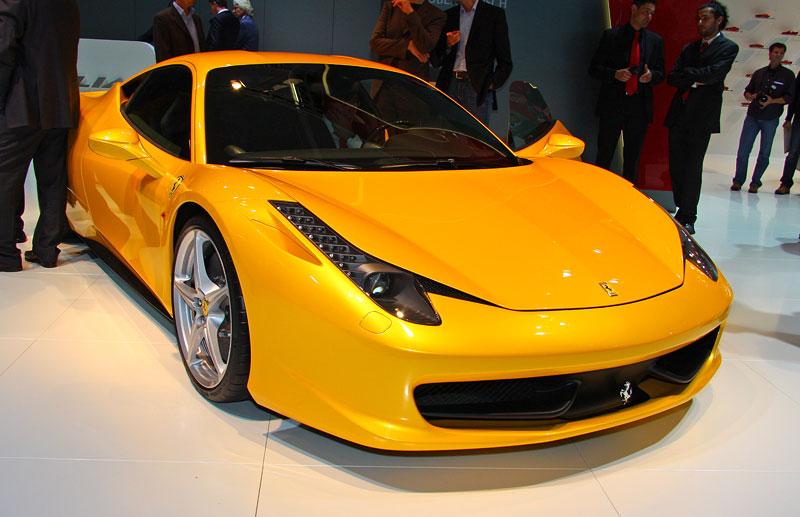 Frankfurt 2009 živě: Ferrari 458 Italia – první dojmy: - fotka 7