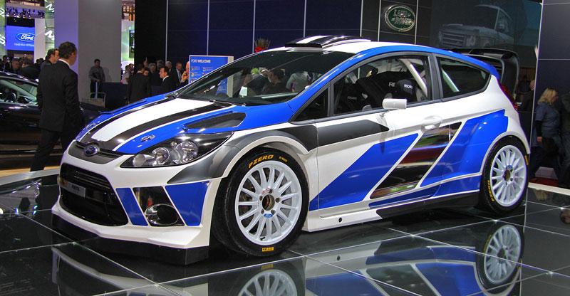 Paříž 2010: Ford Fiesta RS WRC – je pomalu čas udělat focusu pápá: - fotka 2