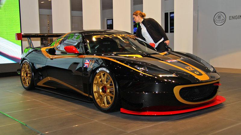 Ženeva 2011: Lotus Evora Enduro GT Concept: - fotka 2