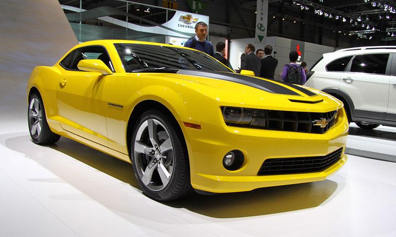 Ženeva 2010 živě: Chevrolet Camaro: - fotka 9