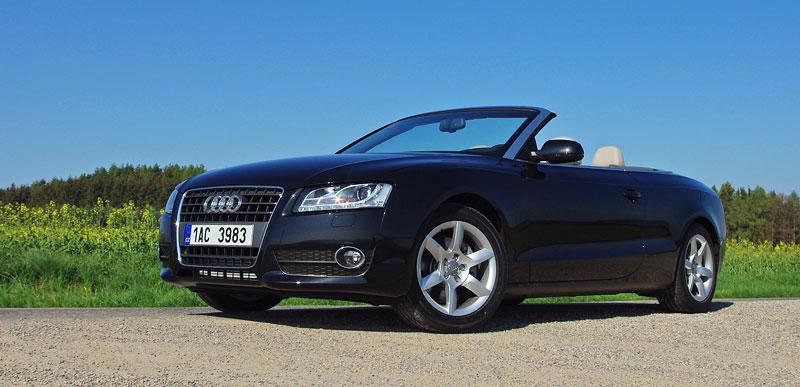 Za volantem: Audi A5 Cabriolet: - fotka 10