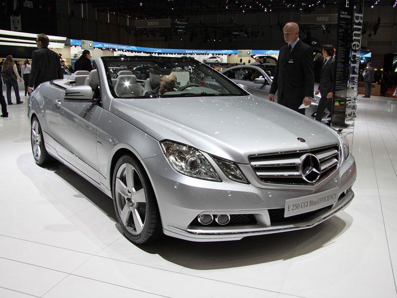 Ženeva 2010 živě: Mercedes-Benz E Cabriolet: - fotka 8