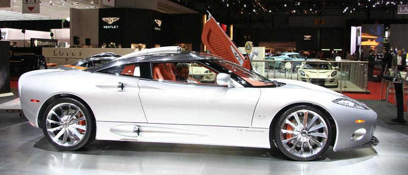 Autosalon Ženeva: Spyker C8 Aileron: - fotka 8