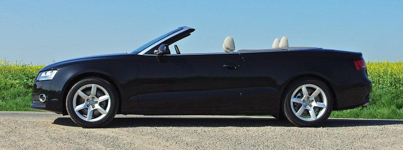 Za volantem: Audi A5 Cabriolet: - fotka 11