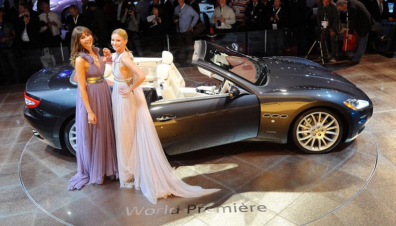 Frankfurt 2009: Maserati GranCabrio: - fotka 5