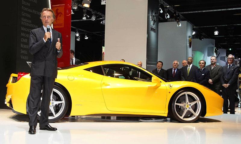 Frankfurt 2009 živě: Ferrari 458 Italia – první dojmy: - fotka 9