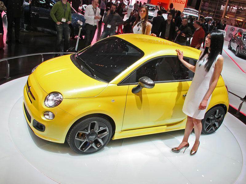Ženeva 2011 živě: Fiat 500 Coupé Zagato: - fotka 6