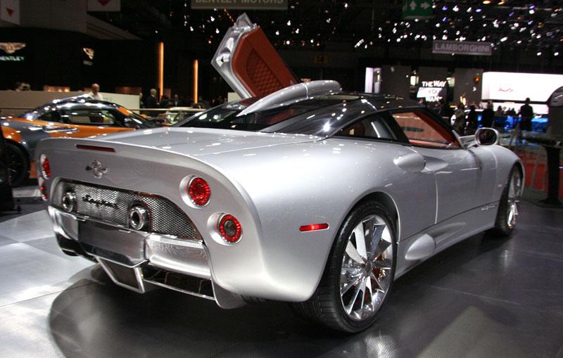 Autosalon Ženeva: Spyker C8 Aileron: - fotka 9