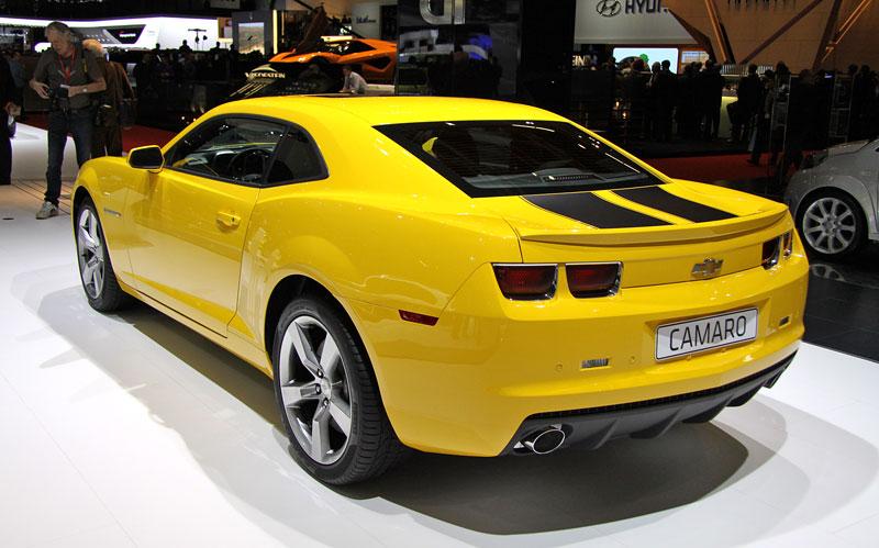 Ženeva 2010 živě: Chevrolet Camaro: - fotka 10