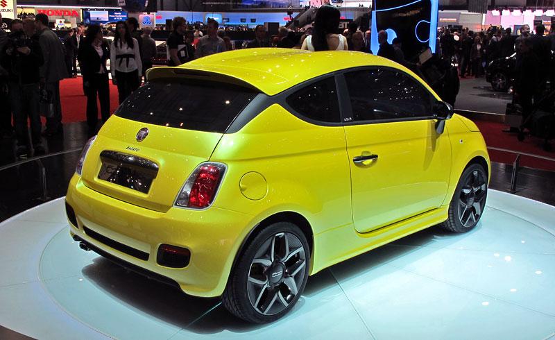 Ženeva 2011 živě: Fiat 500 Coupé Zagato: - fotka 7