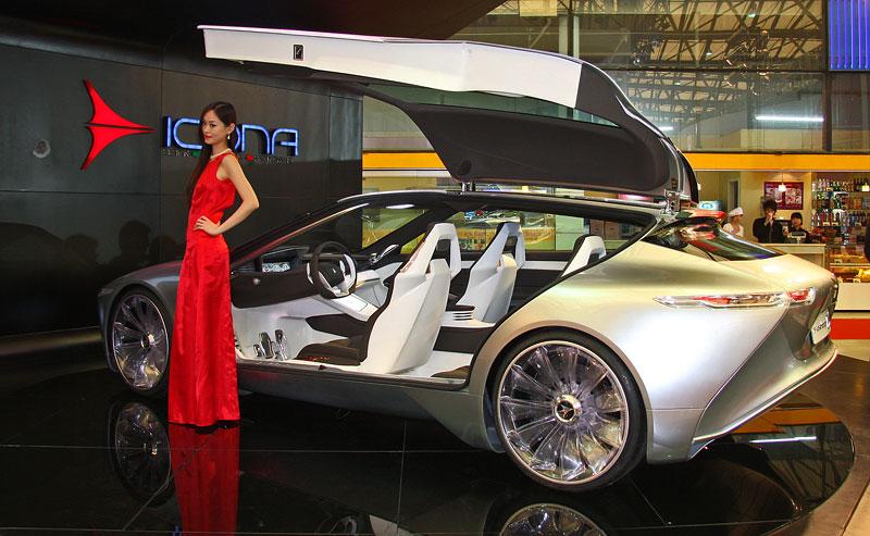 Icona Design Fuselage: atraktivní granturismo... z Číny!: - fotka 10