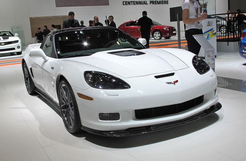 Ženeva 2011 živě: Chevrolet Camaro Convertible: - fotka 13