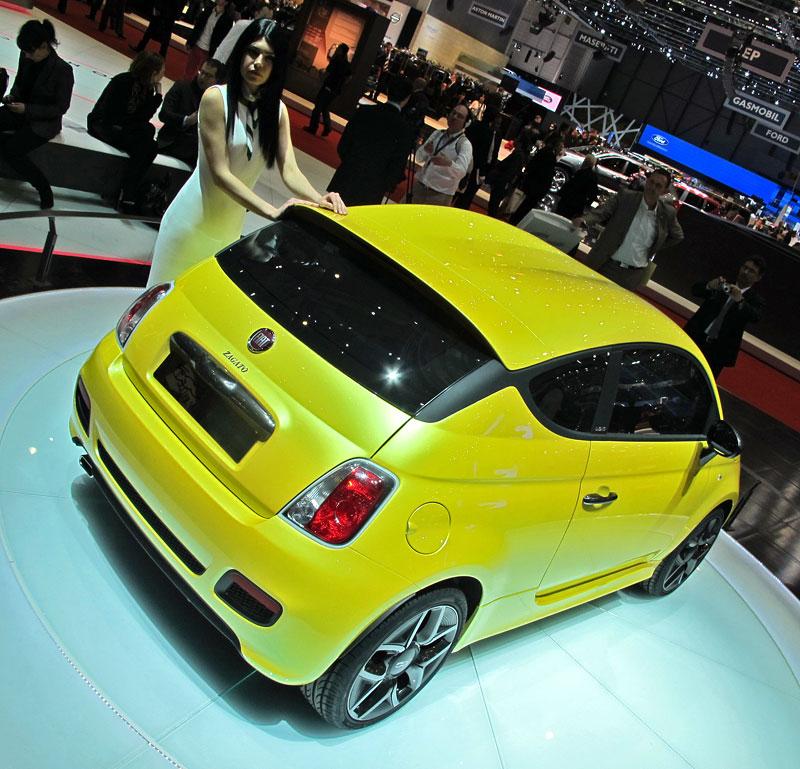 Ženeva 2011 živě: Fiat 500 Coupé Zagato: - fotka 8