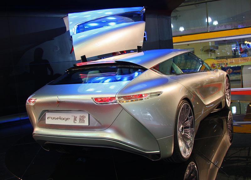 Icona Design Fuselage: atraktivní granturismo... z Číny!: - fotka 11