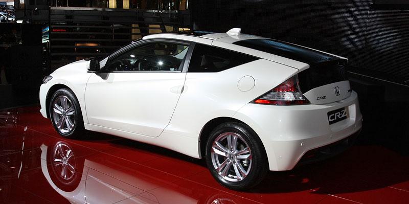 Ženeva 2010 živě: Honda CR-Z: Návrat legendy: - fotka 14