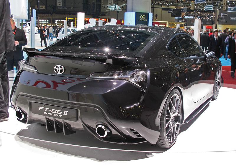 Toyota FT-86: potvrzen motor, převodovky a samosvor: - fotka 13