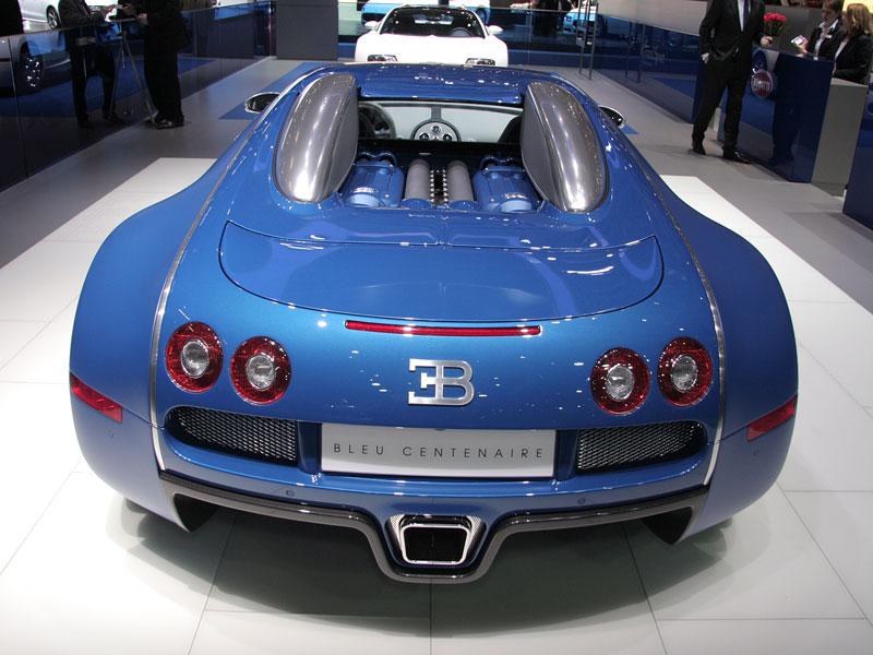 Autosalon Ženeva: Bugatti Veyron Bleu Centenaire: - fotka 5