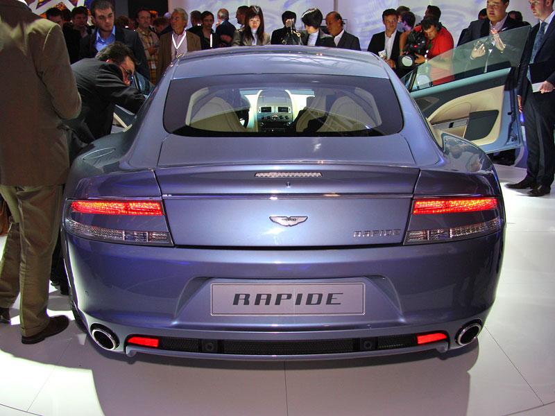 Frankfurt 2009: Aston Martin Rapide: - fotka 11
