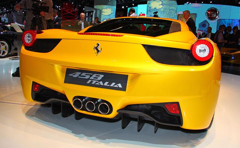 Frankfurt 2009 živě: Ferrari 458 Italia – první dojmy: - fotka 14